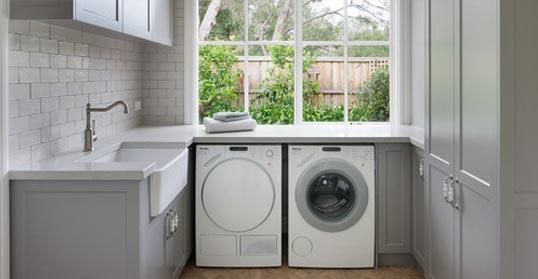 laundry cabinets installation