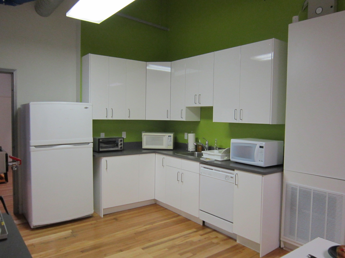 office kitchen installation